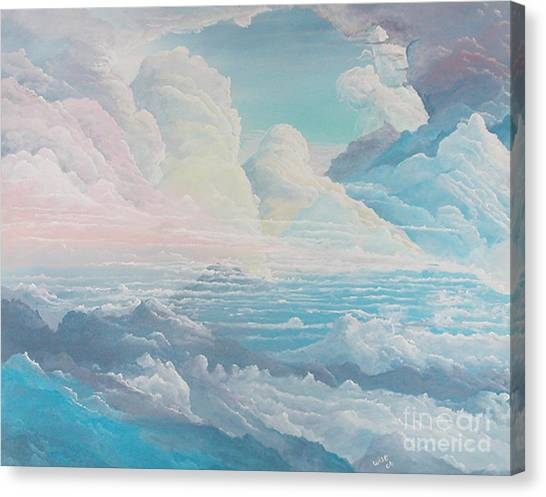 May Colored Clouds Canvas Print by John Wise