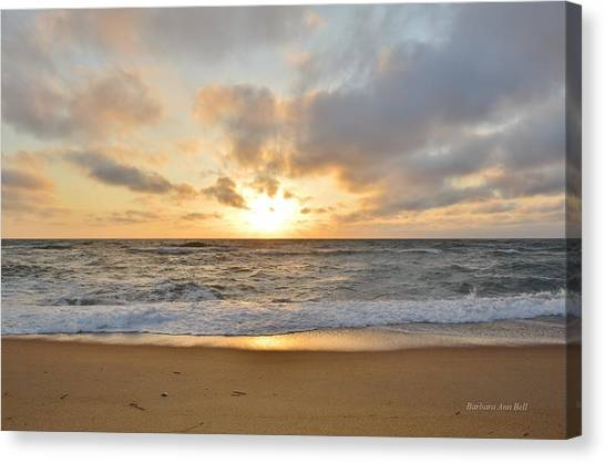 May Sunrise In Obx Canvas Print