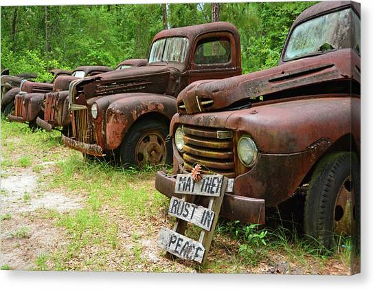 May They Rust In Peace Canvas Print
