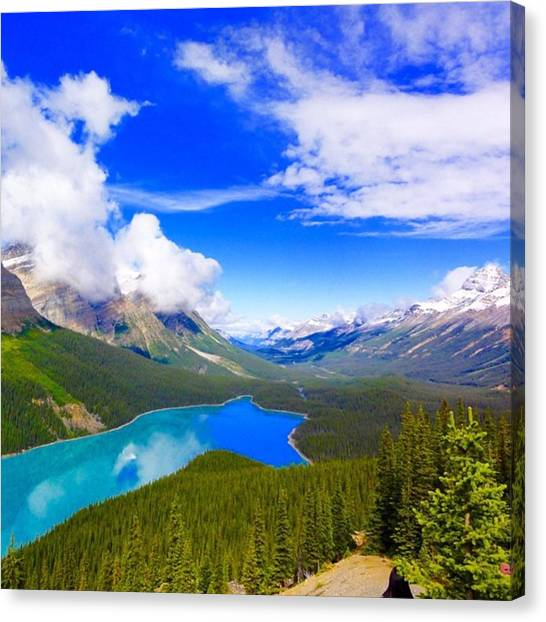 Rocky Mountains Canvas Print - ....maybe You Had To Leave In Order by Alexandre Donada