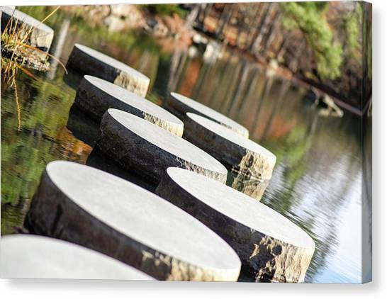 Maymont Stepping Stones Canvas Print