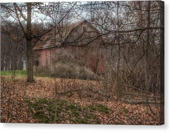 0026 - Mayville's Hidden Barn II Canvas Print