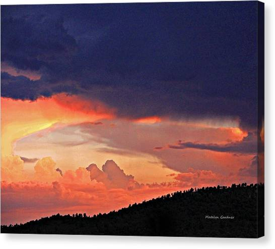 Mazatzal Peak Sunset Canvas Print