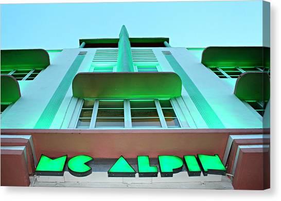 Mcalpin Hotel Canvas Print