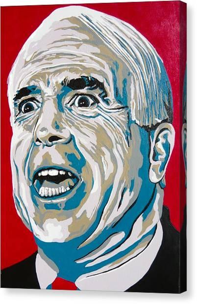 John Mccain Canvas Print - Mccain by Dennis McCann