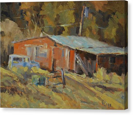 Mccarthy's Shed Canvas Print by Gary Gore