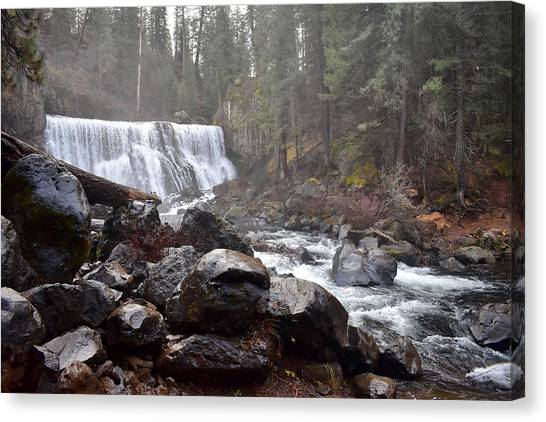 Mccloud Middle Fall Canvas Print