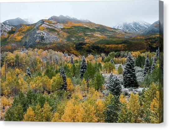 Mcclure Pass - 9606 Canvas Print