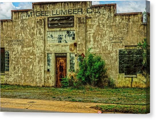 Mcgee Lumber 2 Canvas Print