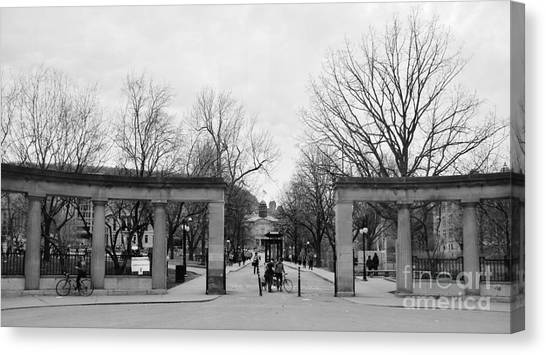 Mcgill Gates Canvas Print
