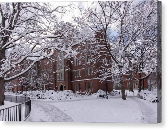 Vanderbilt University Canvas Print - Mcgill Hall, Vanderbilt University by John Hall