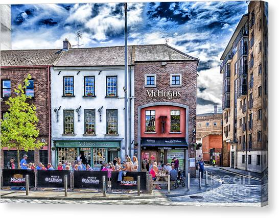 Mchugh's Bar, Belfast Canvas Print