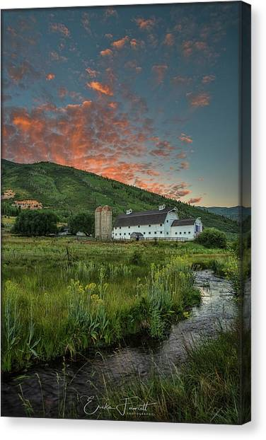 Mcpolin Sunrise Canvas Print
