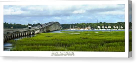 Mcteer Bridge Canvas Print