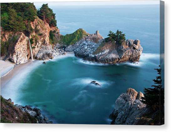 Canvas Print featuring the photograph Mcway Bay by Dan McGeorge