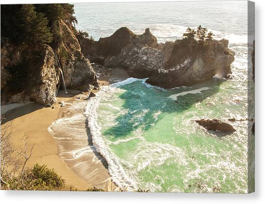 Mcway Falls, California Canvas Print