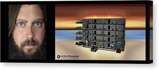 Me And My Hotel Create Canvas Print