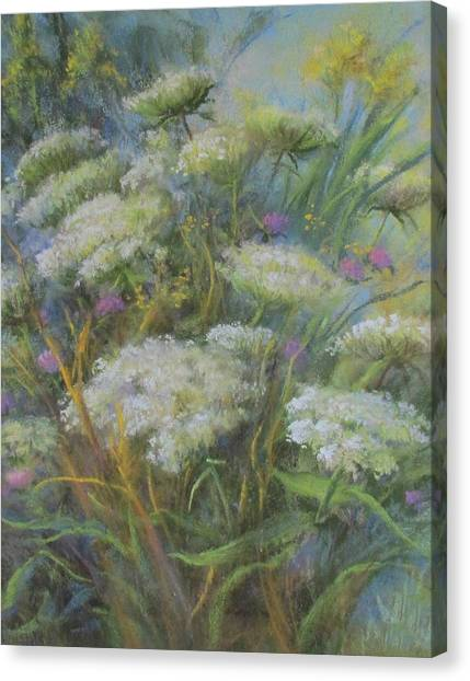 Meadow Bouquet Canvas Print