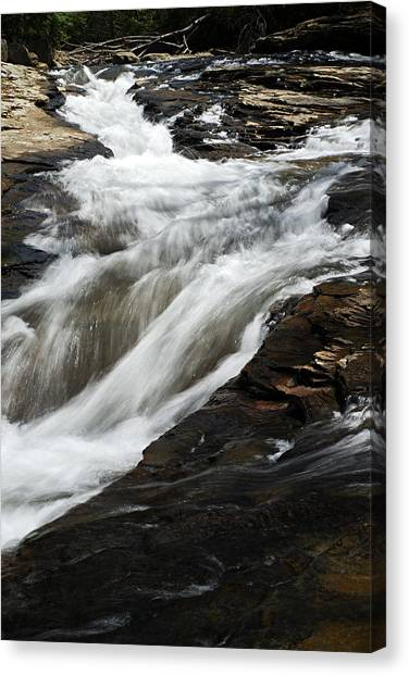 Meadow Run Water Slide 2 Canvas Print
