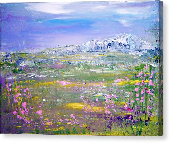 Meadow Sky By Colleen Ranney Canvas Print