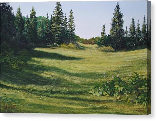 Meadow Walk Canvas Print