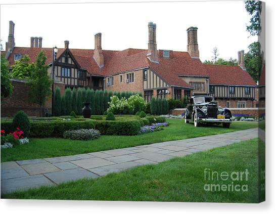 Meadowbrook Hall Canvas Print