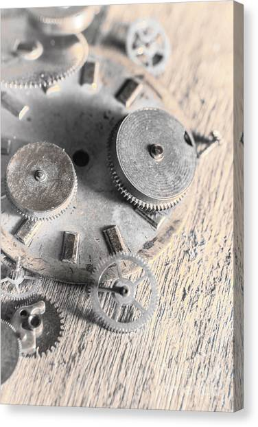 Machinery Canvas Print - Mechanical Art by Jorgo Photography - Wall Art Gallery