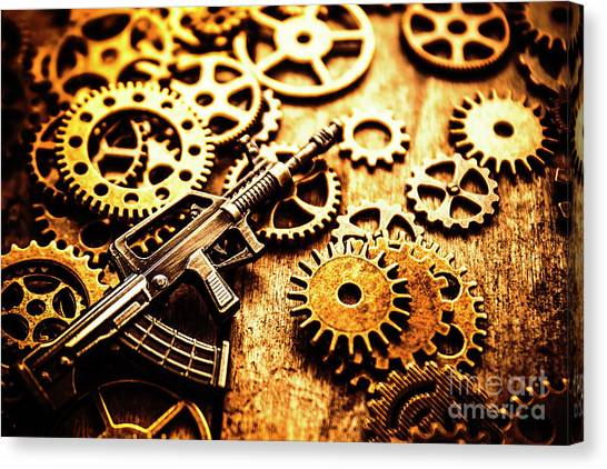 Special Forces Canvas Print - Mechanised Warfare by Jorgo Photography - Wall Art Gallery