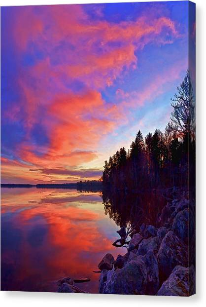 Meddybemps Reflections 2 Canvas Print