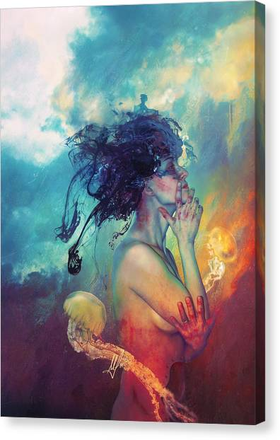 Emotional Canvas Print - Medea by Mario Sanchez Nevado