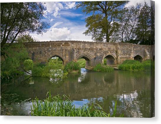 Medieval Bridge Canvas Print