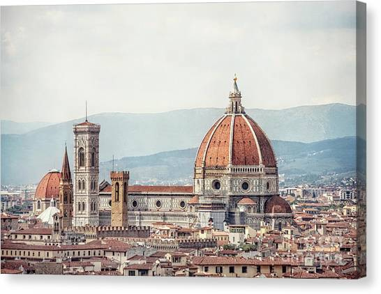 Florence Canvas Print - Medieval Echoes by Evelina Kremsdorf