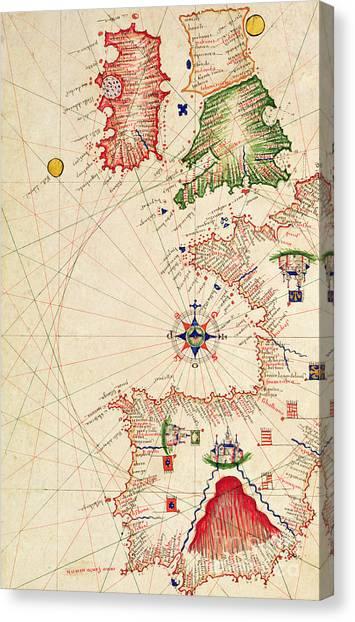 Compass Points Canvas Prints | Fine Art America