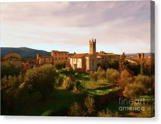 Medieval Tuscany Canvas Print