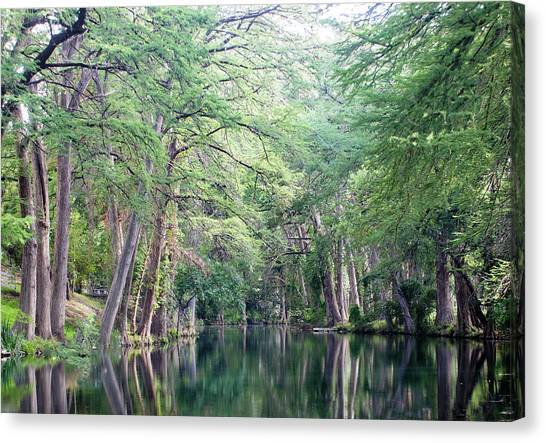 Medina Creek In Summer Canvas Print