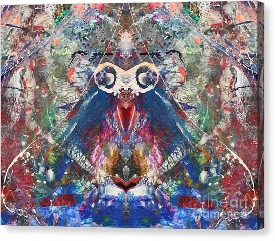 Meditation Canvas Print by Dan Cope