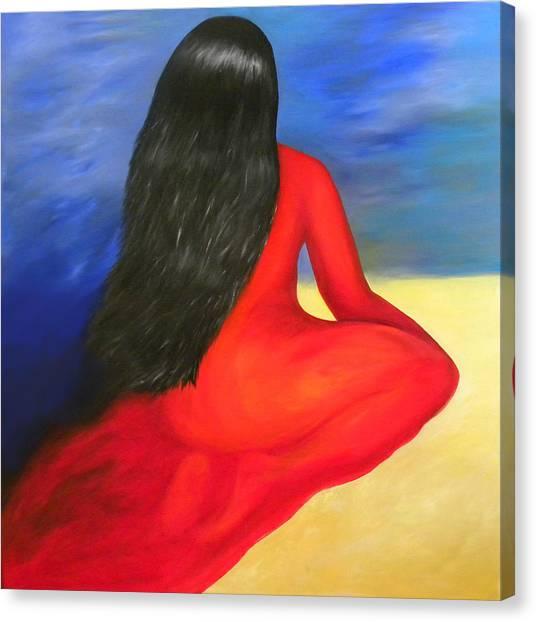 Meditation Moment Canvas Print