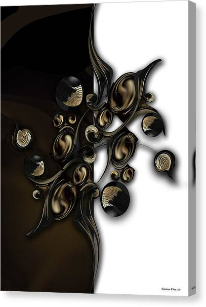 Canvas Print - Meditation Vs Dimension by Carmen Fine Art