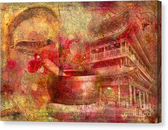 Meditative Montage 2015 Canvas Print