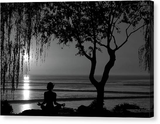 Meditative State Canvas Print