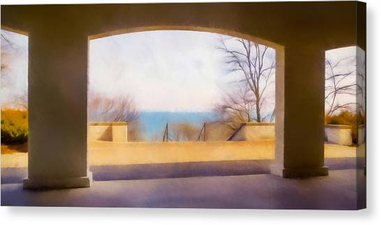 Lake Michigan Canvas Print - Mediterranean Dreams by Scott Norris