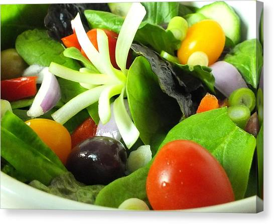 Mediterranean Salad Canvas Print