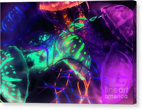 Biology Canvas Print - Medusarizing by Jorgo Photography - Wall Art Gallery
