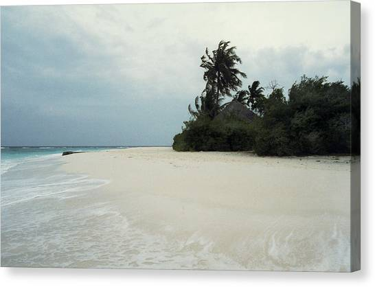 Meedhupparu Beach Canvas Print