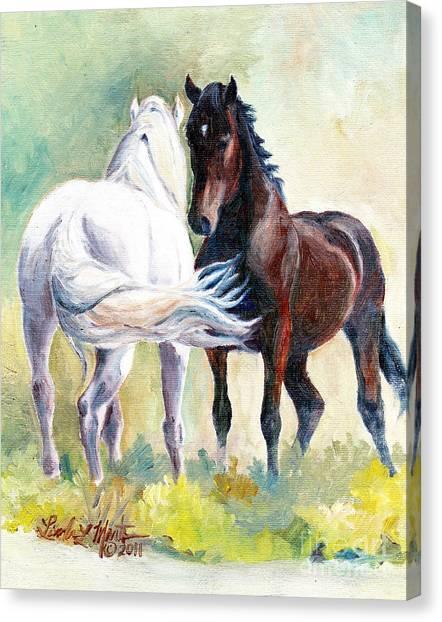 Meet And Greet Canvas Print