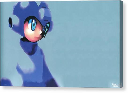 Mega Man Canvas Print - Mega Man by Alice Kent