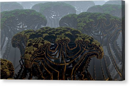 Mega Trees Canvas Print