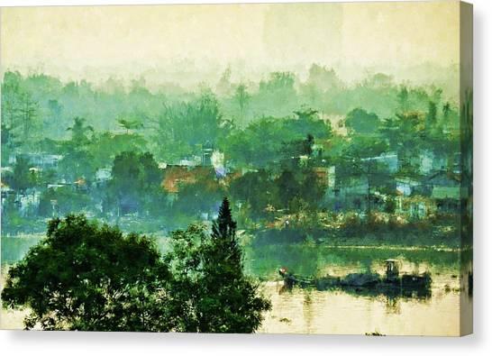 Mekong Morning Canvas Print