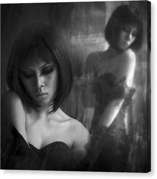 Mood Canvas Print - Melancholy by Antonyus Bunjamin (abe)