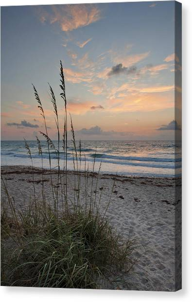 Melbourne Beach Sunrise Canvas Print